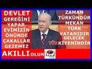 MHP Grup Toplantısında Devlet Bahçeli'nin Konuşması 03.04.2018