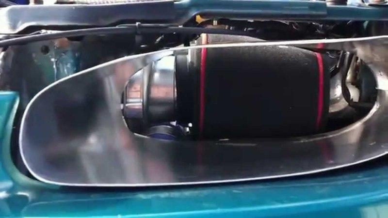 H-P-C Mazda 323F V6 KLZE Turbo idle