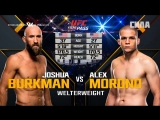 FIGHT NIGHT AUSTIN Joshua Burkman vs Alex Morono