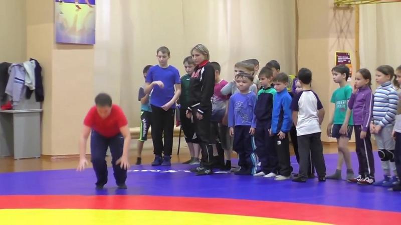 Вольная борьба НЧК Вольная борьба Тренировка в младшей группе дети от 7 лет и старше