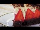Торт Норка Крота с клубникой | Больше рецептов в группе Кулинарные Рецепты