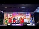 Ансамбль народной песни «Любо-Мило» на гастролях в Марокко.
