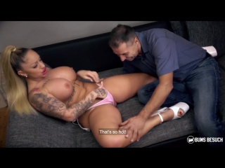 Porndoepremium – bums besuch – mature newbie peter korn gets to fuck gorgeous german porn star dana jayn