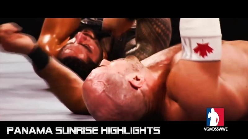 Roman Reigns vs. Cesaro / WWE WHC Tournament Quarterfinal: Raw (16/11/2015) / Highlights [HD]
