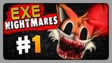 EXE Nightmares DEMO Прохождение #1 ✅ Ночь 1 - SONIC.EXE