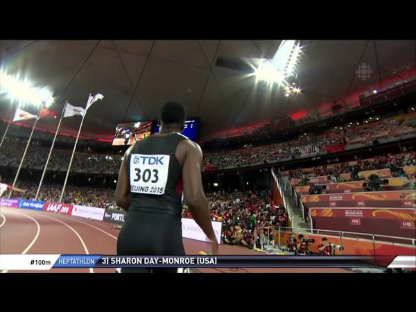 Justin gatlin /Aaron Brown - MEN's 100m Heat 6 - Track Field - IAAF world championships 2015