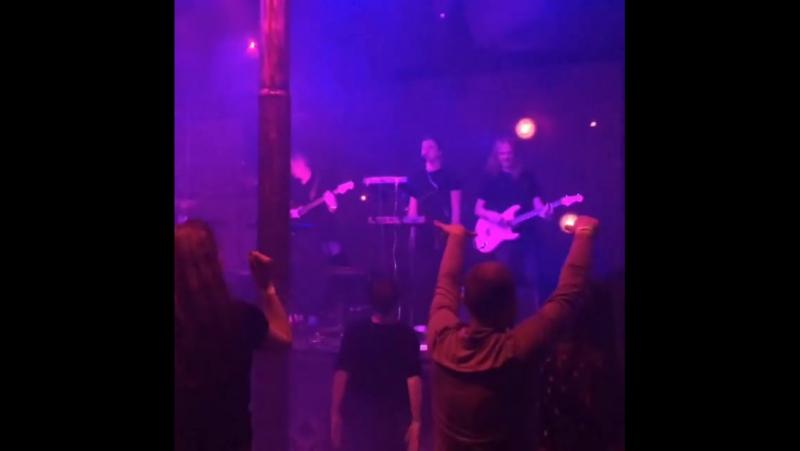 THE AMPLIFIERS in BLACKOUT Rock Club 27.05.2017