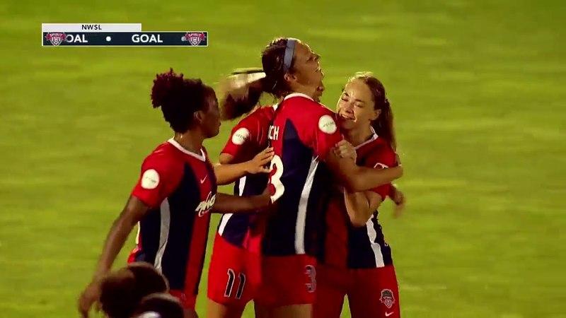 GOAL: Ashley Hatch's second goal of the season