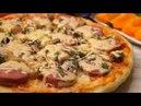 Пирог-пицца за 8 минут вместе с выпечкой. Палочка-Выручалочка!