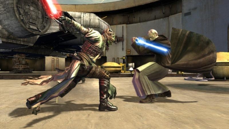 Lord Starkiller vs Obi Wan Kenobi