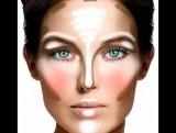 как правильно наносить макияж . салон красоты
