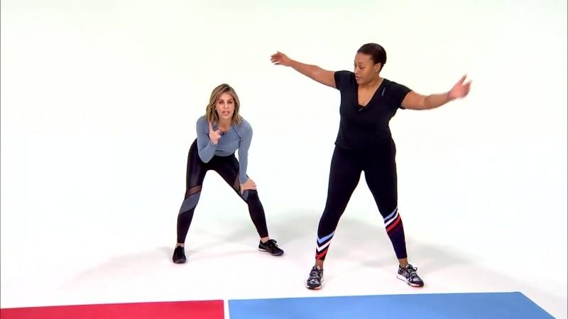 Jillian Michaels' Favorite Do-Anywhere Workout for Health (тренировка от Джиллиан Майклс)