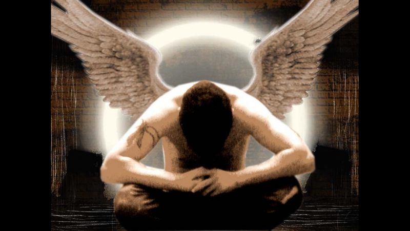 <БАНДА-одинокий ангел вернувшийся из ада (моя авторская песня)