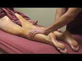 Watch Beautiful Massage on Lower Extremities, Binaural Music, Gorgeous Ladies.