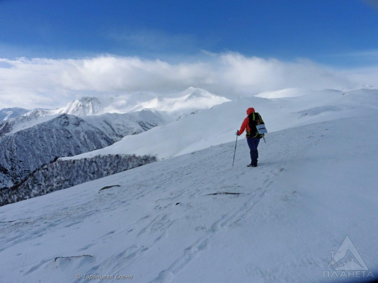 Восхождение на гору Смирнова 2519м