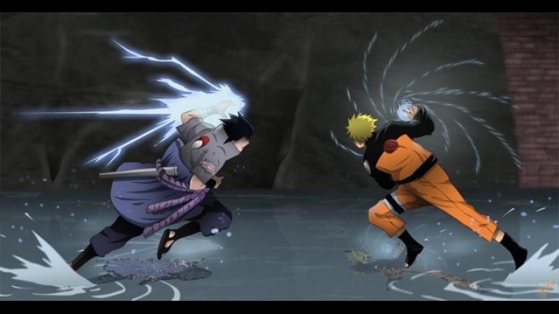 Naruto vs Sasuke [AMV] - Destroy My Pain ♪