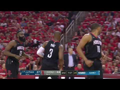 NBA UTAH JAZZ vs HOUSTON ROCKETS Round2 Game1 April29, 2018