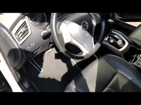 Nissan Qashqai J10 🔥 Видео отзыв EVA ковриков Duffcar