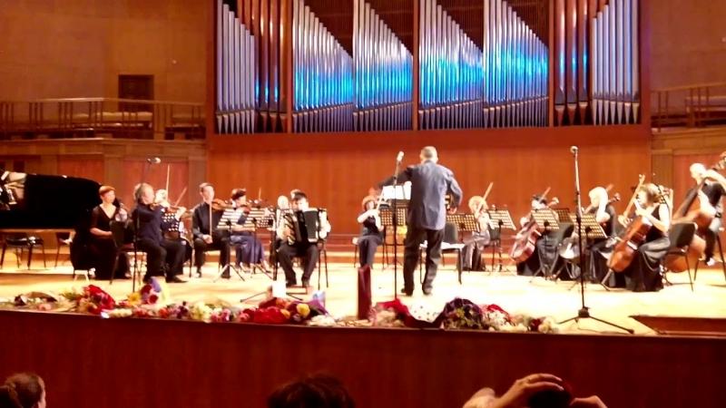 Концепт , выступление с камерным оркестром Игоря Лермана в органном зале, 21.05.2018 года.