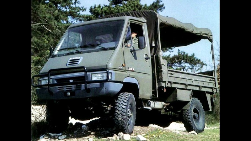 Renault B110 44 Military Truck 1993 99
