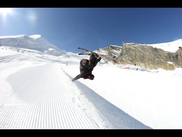 Saas Fee shred! Ostap Zakarian