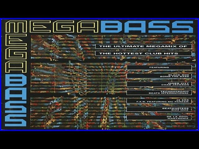 Megabass 1 (1990) (Megamix Acid House, House, Euro House, Hip-House)