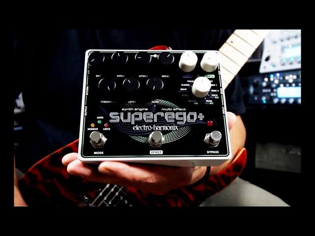 Electro-Harmonix SUPEREGO Synth EngineMulti Effect