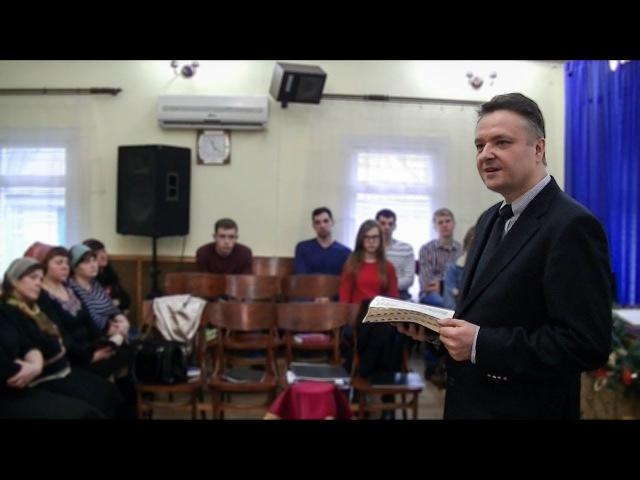 Первая Церковь ЕХБ г. Люботин. Воскресное служение (31.12.2017)