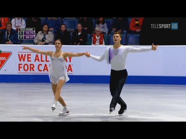 Наталья Забияко-Александр Энберт, GP2 Skate Canada 2017, FS