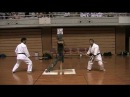 BO MAKIWARA - 2-PERSON SET - Demonstration at Okinawa World Karatedo Tournament 2009