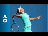 Petra Martic v Elise Mertens match highlights (4R) | Australian Open 2018