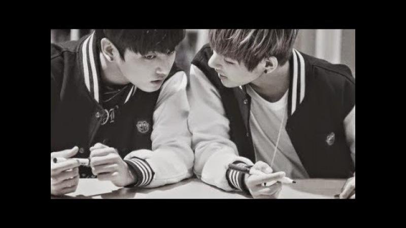 BTS Ким Тэхен и Чонгук клип Давай сбежим