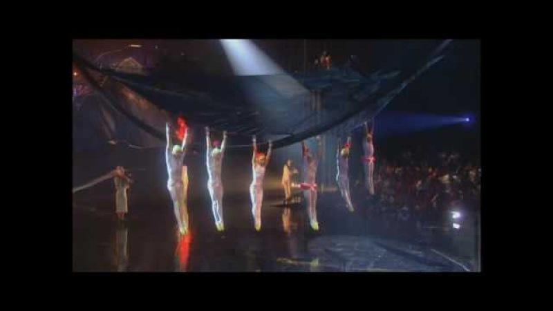 La Nouba, Flying Trapeze, Cirque du Soleil