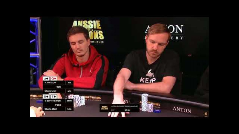 Aussie Millions 2017 $100k Challenge Final Table (good quality)