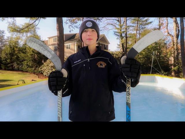 Bauer 1X vs. Bauer 1N! (On Ice)