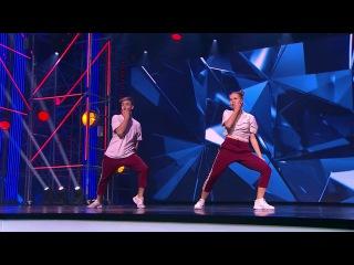 Танцы: Настя Щербак и Сергей Сивак (Kwabs - Love/War) (сезон 4, серия 8) из сериала Танцы см ...