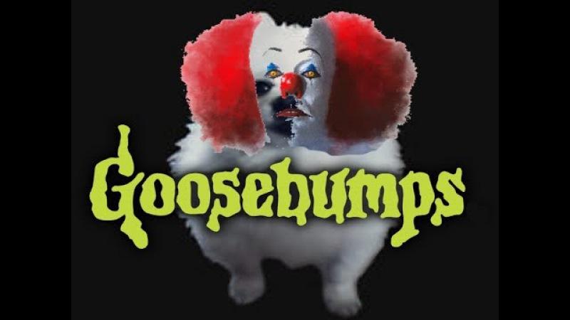Gabe the dog Goosebumps Haloween Special