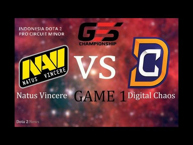 NaVi vs DC 1 bo1 GESC Indonesia, 17.03.2018