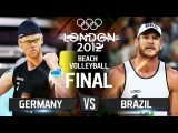 GOLD Collection | Beach Volleyball | Brazil v Germany - Men's Gold Final | London 2012 Olympic Games