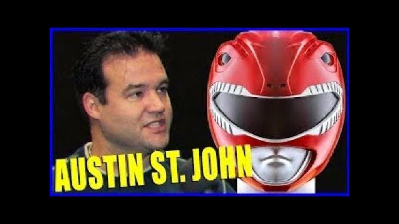 Austin St John POWER RANGERS Interview - Comikaze 2015