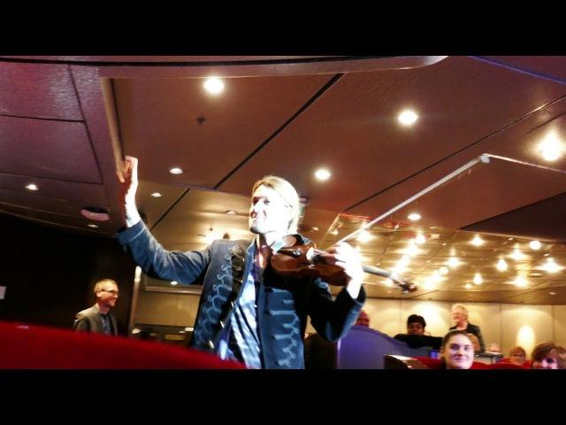 David Garrett mit seiner Band, You are the Inspiration, Chicago