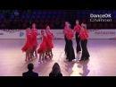 Duet Perm One Heart Bit 2018 Russian Championship Formation Latin