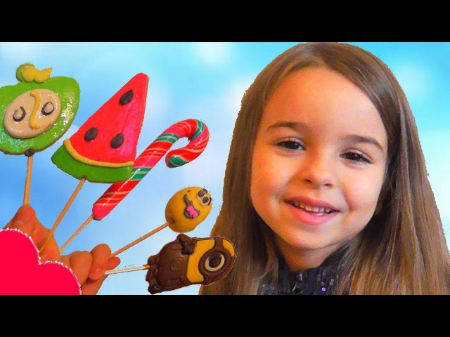 Learn Colors With Candy Lollipops for Kids Children Toddlers Songs Finger Family Nursery Rhyme