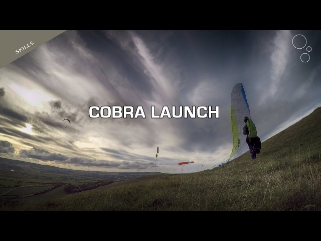 Paragliding Skills How To Cobra Launch