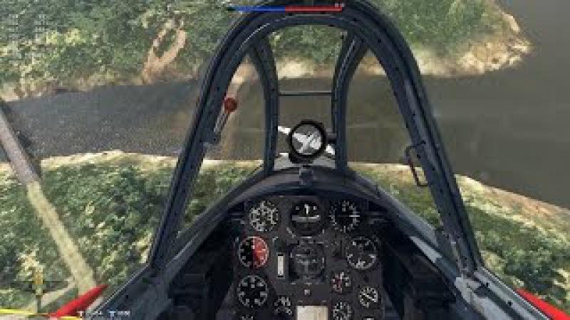 WarThunder SB EC 2017.01.27 Ki-44-II otsu: Японская двустволка.
