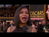 Taraji P. Henson on the Oscars 2018 Red Carpet