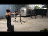 Blindfolded arrow catch with multiple shooting arrows!  #coub, #коуб