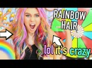 Dying My Hair RAINBOW (you spin it, you dye it omg)