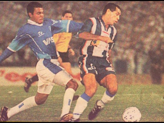 CSA 4x2 Talleres - Copa Conmebol 1999 - Narração em Espanhol