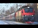 Электровоз ЭП20-038 со скорым поездом №144 Москва - Кисловодск